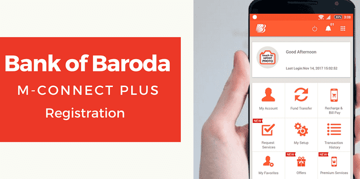 Bank of Baroda M-Connect Plus