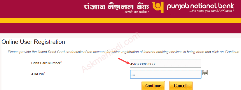 Punjab National Bank Internet Banking