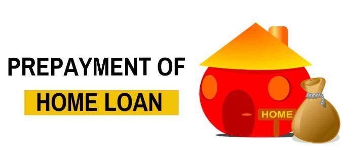 prepayment-of-home-loan