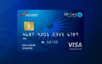 SBI-Air-India-Signature-Credit-Card
