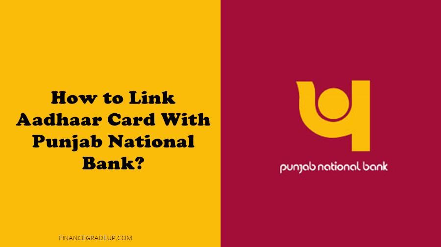 link aadhaar with punjab national bank account