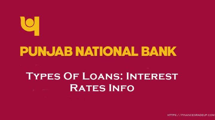 Punjab National Bank Loan Types