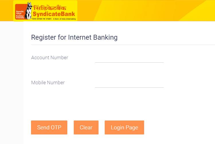 syndicate bank netbanking register