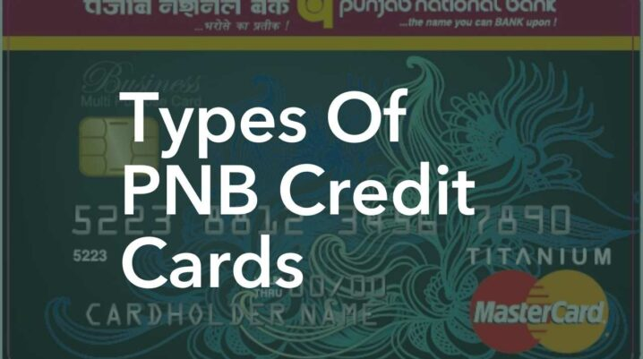 types of pnb credit cards