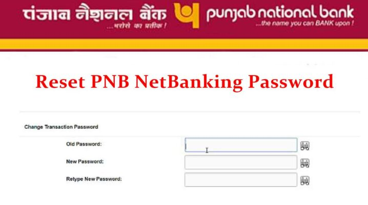 regenerate pnb netbanking password