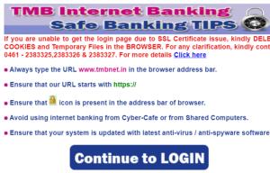 tmb netbanking