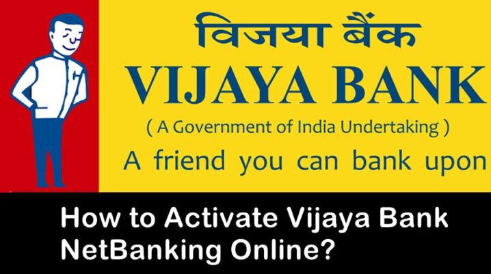 activate vijaya bank net banking