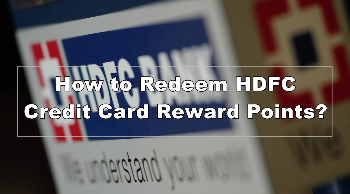 how to redeem hdfc reward points to bank