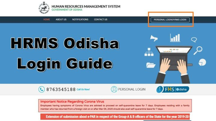 hrms odisha login guide